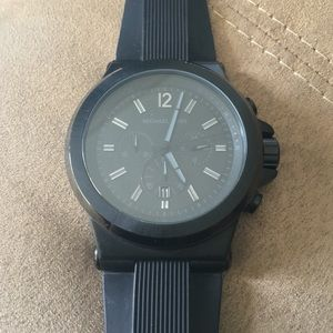48061ac7af36 Michael Kors · Michael Kors Dylan Black Watch 45mm MK8152